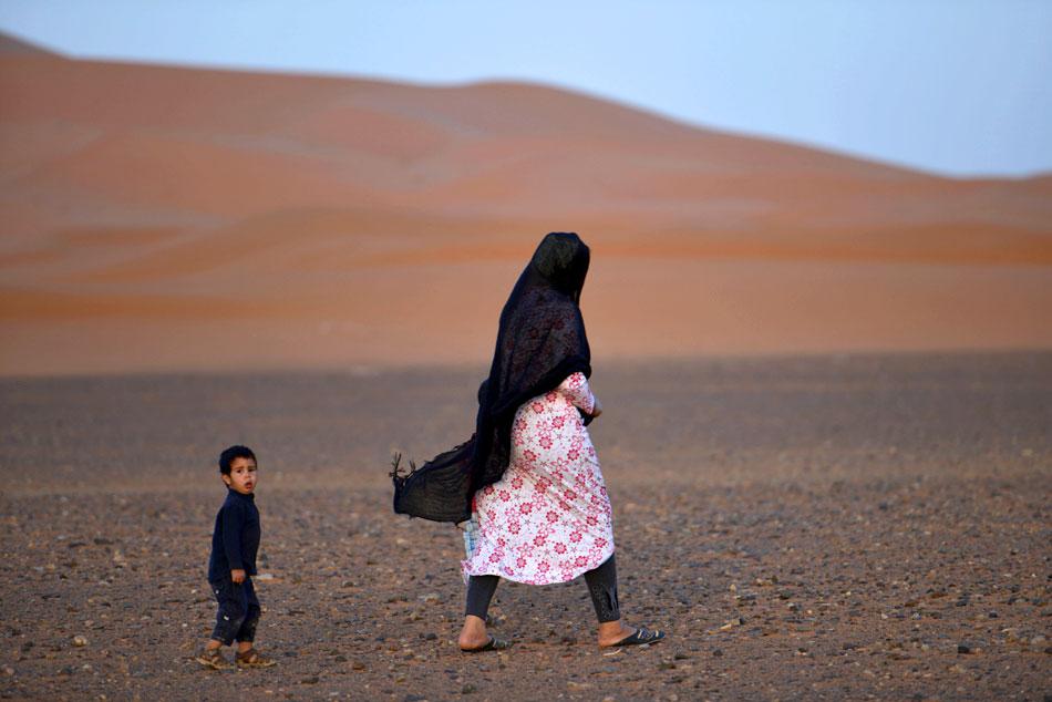 Desert dunes-Merzouga-morocco-excursions