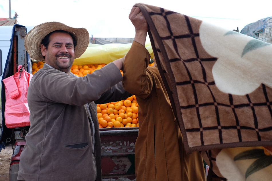 Essaouira tours include a day's trip to a country market